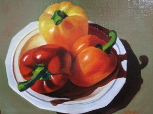 Luscious Peppers $425 10X12
